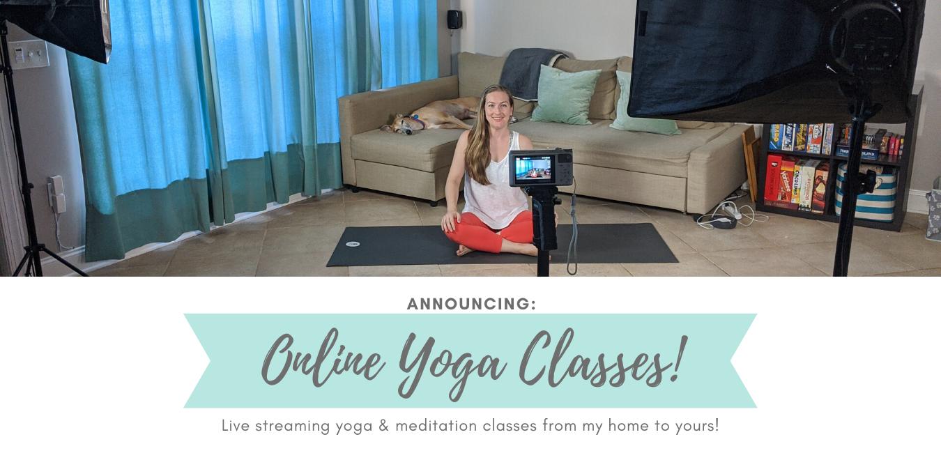 Banner Online Yoga