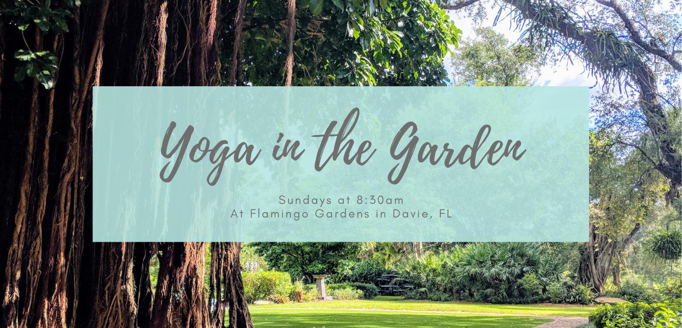 Banner Yoga Garden